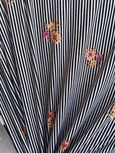 Load image into Gallery viewer, Mini Stripe Bouquet Double Brushed Polyester Spandex