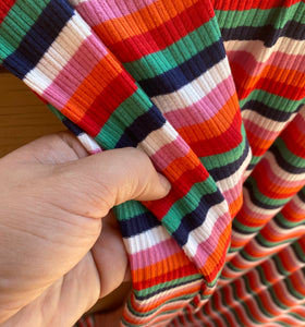 Zinnia Multicolor Stripe Ribbed Knit