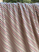 Load image into Gallery viewer, Warm Ivory Dots Rayon Spandex