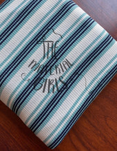 Load image into Gallery viewer, Mint Julep Stripe Ribbed Knit