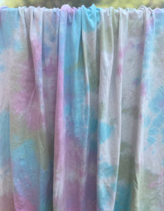 Sweet Summertime Tie Dye Cotton Spandex