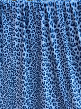 Load image into Gallery viewer, Leopard Blues Cotton Lycra