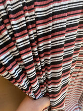 Load image into Gallery viewer, Rose Stripe Ribbed Knit