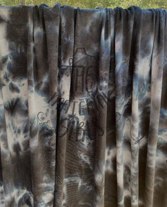 Black Ice French Terry Tie Dye