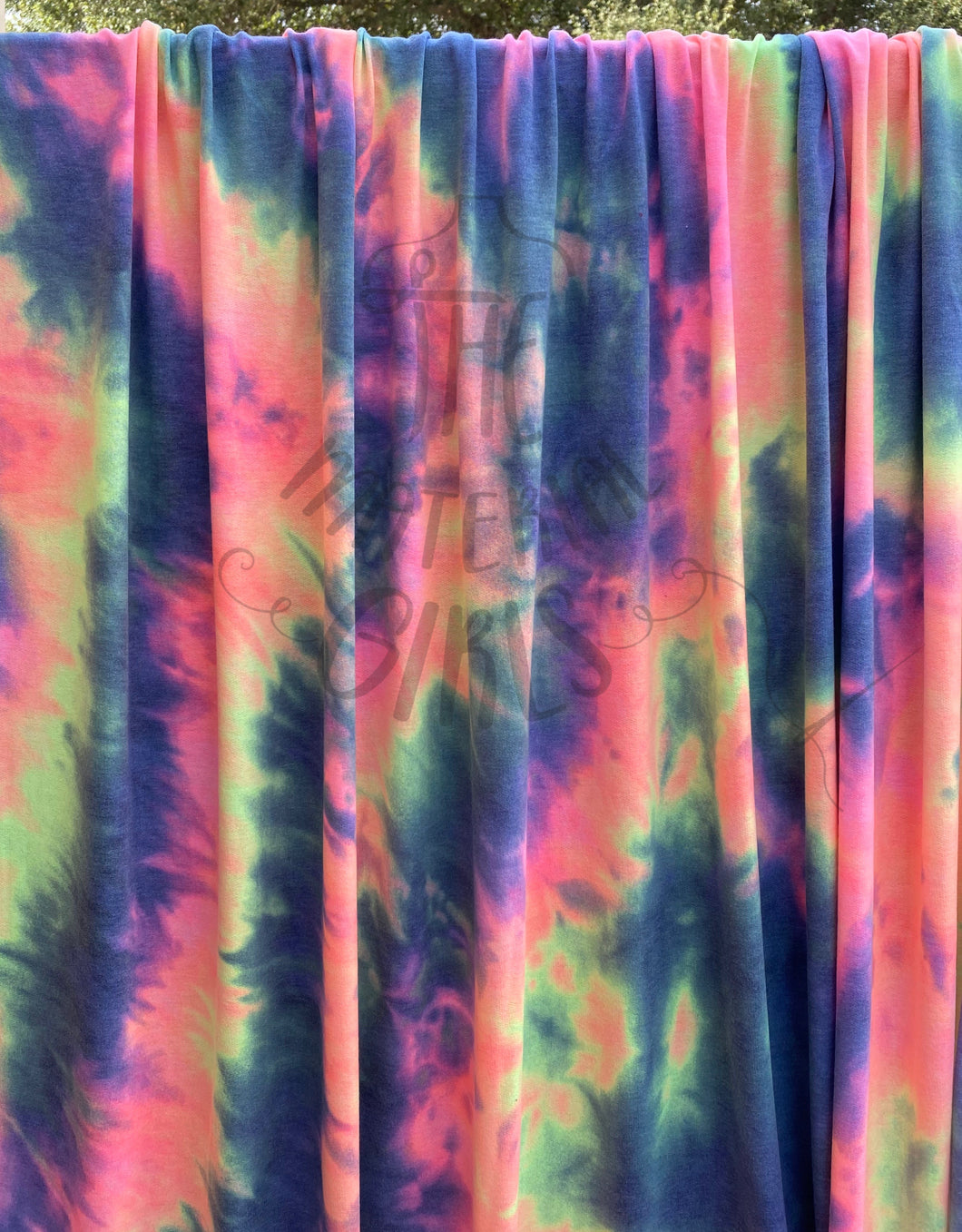 Granite Neon Tie Dye French Terry