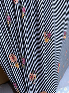 Mini Stripe Bouquet Double Brushed Polyester Spandex