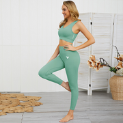 Sage Green Luxe Seamless Sports Bra