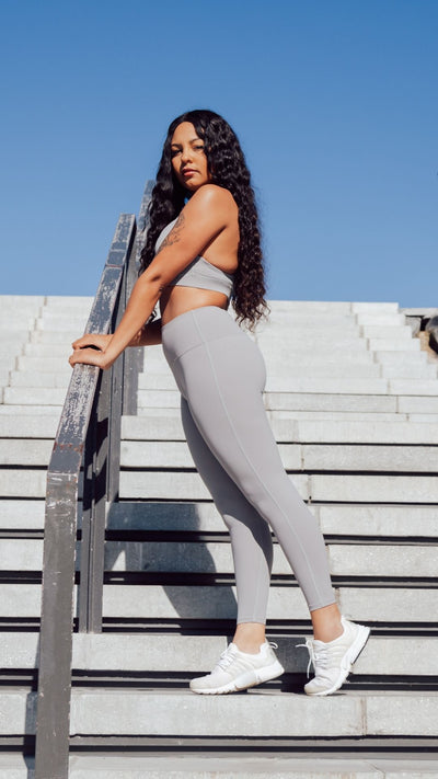 Cool Grey Pro Seamless Leggings