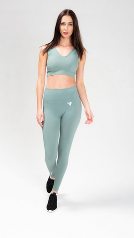 Sage Green Luxe Seamless leggings