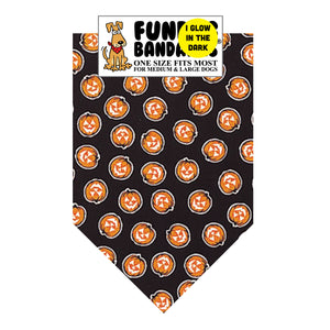 All Over Glow Pumpkin Bandana