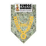 Baller Money Pattern Bandana - FunDogBandanas