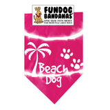 Beach Dog Bandana