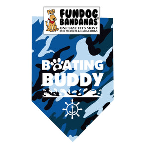 Boating Buddy Bandana