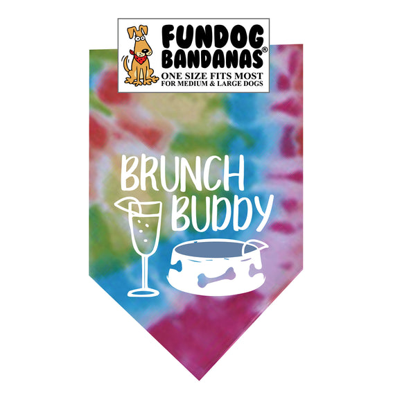 Brunch Buddy Bandana - FunDogBandanas