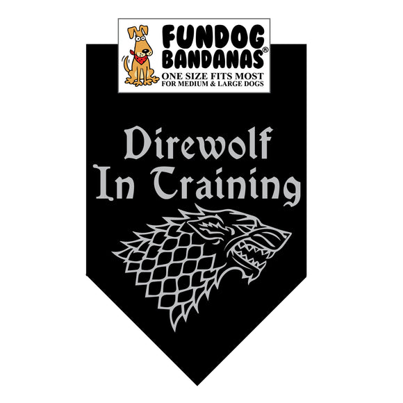 GT Direwolf In Training Bandana
