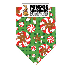 Gingerbread People Bandana