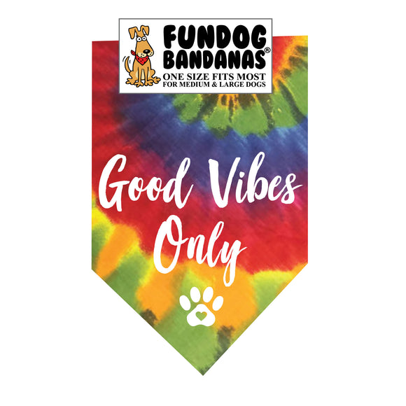 Good Vibes Only! Bandana