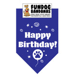 Wholesale 10 Pack - Happy Birthday Bandana - Assorted Colors