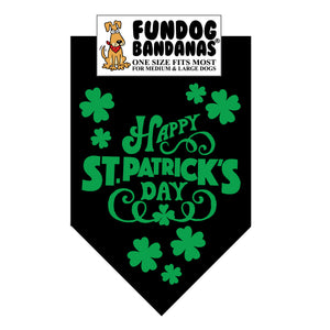 Wholesale 10 Pack - Happy St. Patrick's Day Bandana