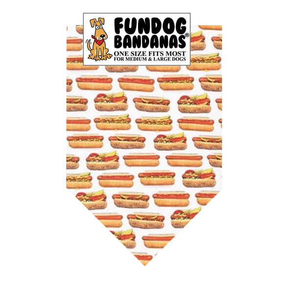 Hot Dogs Bandana