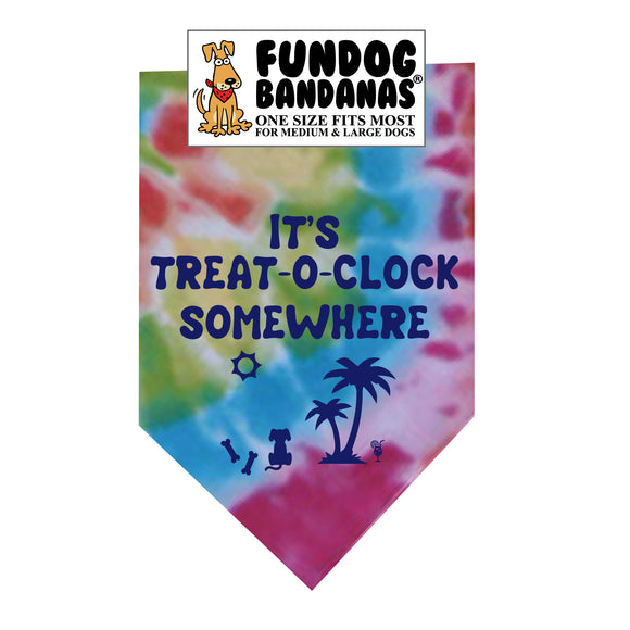 It's Treat-O-Clock Somewhere Bandana