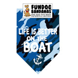 Wholesale 10 Pack - Life is Better on the Boat Bandana / Assorted Colors