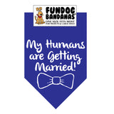 My Humans are Getting Married Bandana