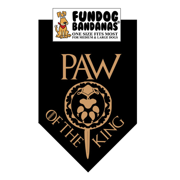Paw of the King Bandana (Game of Thrones)