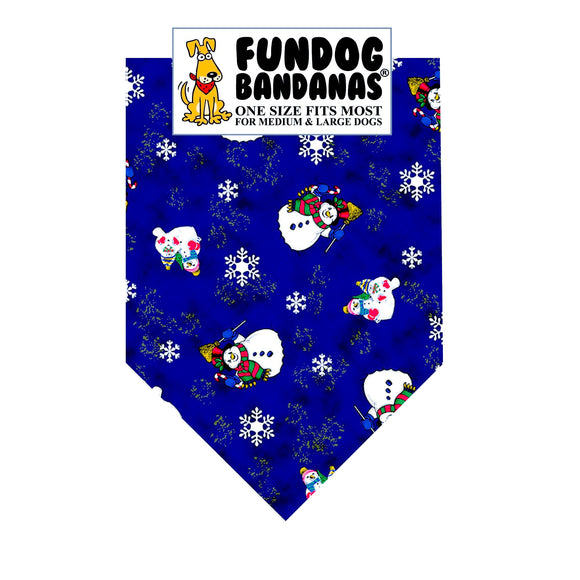 Snowmen Pattern Bandana - Limited Edition