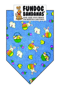 Wholesale 10 Pack - Bunny Patch - FunDogBandanas