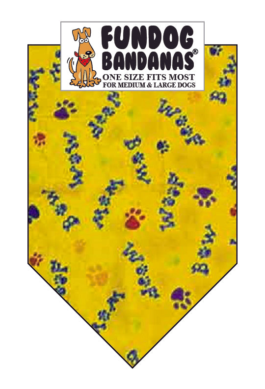 Bow Woof Paws Gold - Limited Edition