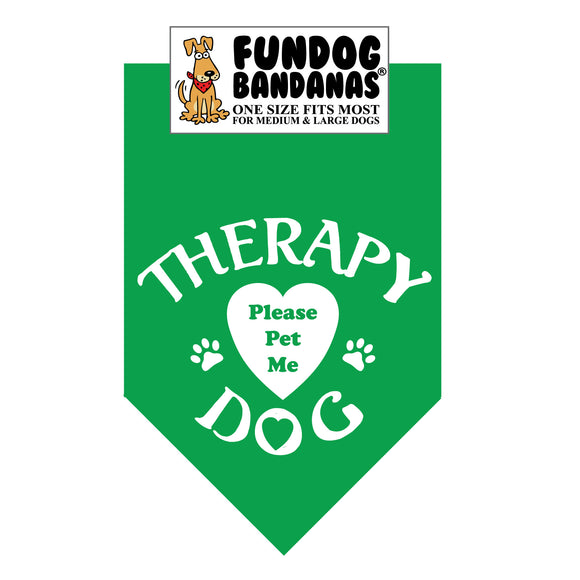 Wholesale 10 Pack - Therapy Dog Please Pet Me - Assorted Colors