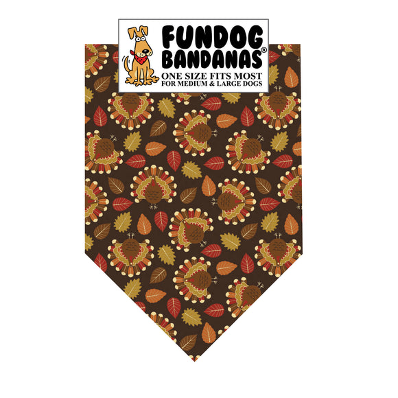 Tossed Turkey Bandana