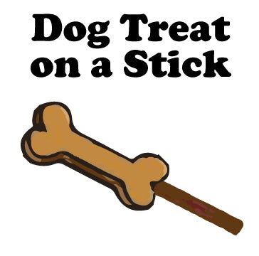 Dog Treat on a Stick