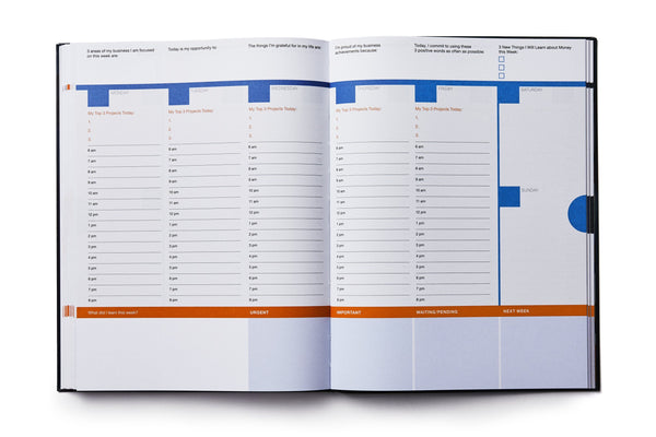 Dailygreatness Success Planner Yearly - Dailygreatness UK & Europe