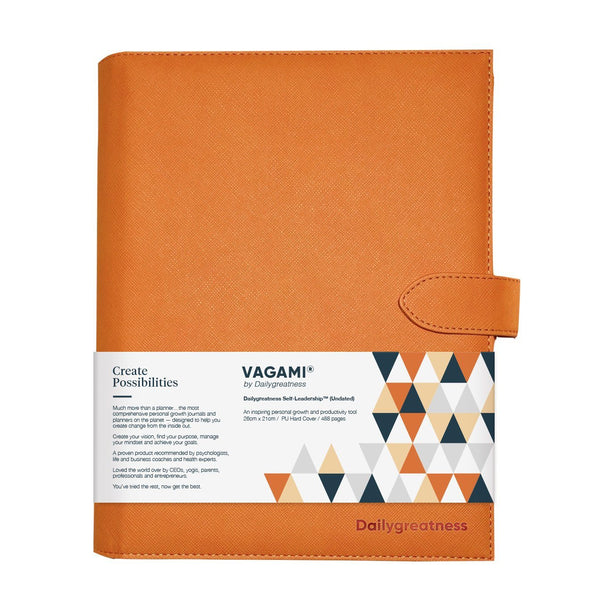 Vagami Self-Leadership™ Planner (Undated) - Dailygreatness UK & Europe