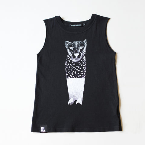 Mini&Maximus 'Cheetah Surf' Muscle Tee SALE