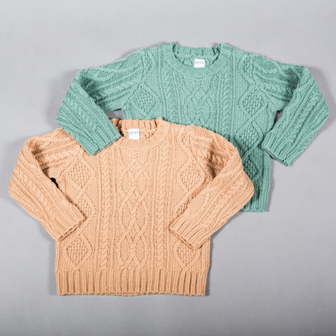 PRSPR Chunky Cable Knit Sweater SALE