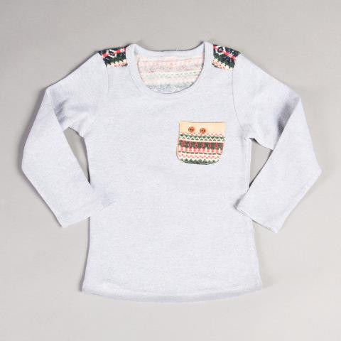 PRSPR Fair Isle Long Sleeve Tee