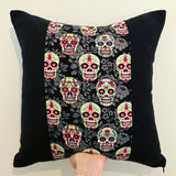 Sugar Skulls Halloween Cushion