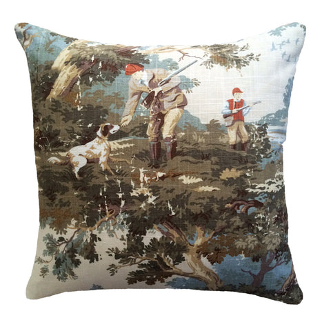 Country themed cushion