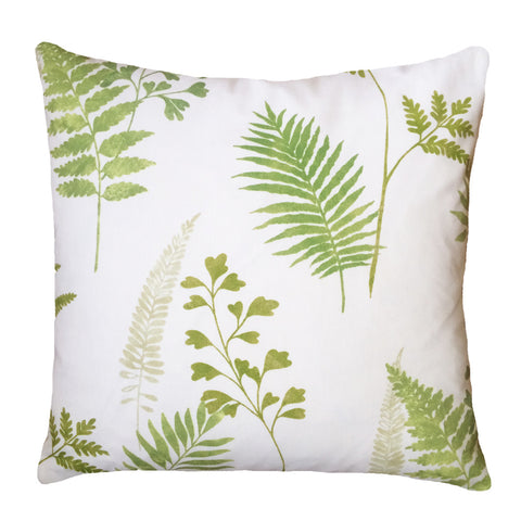 Ferns & Leaves cushion