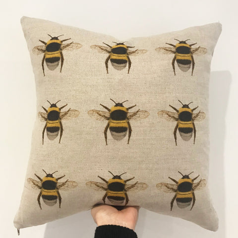 Bees Bees Bees cushion
