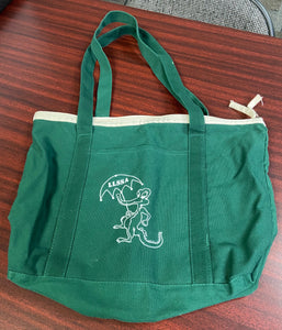 Green Gator Tote Bag