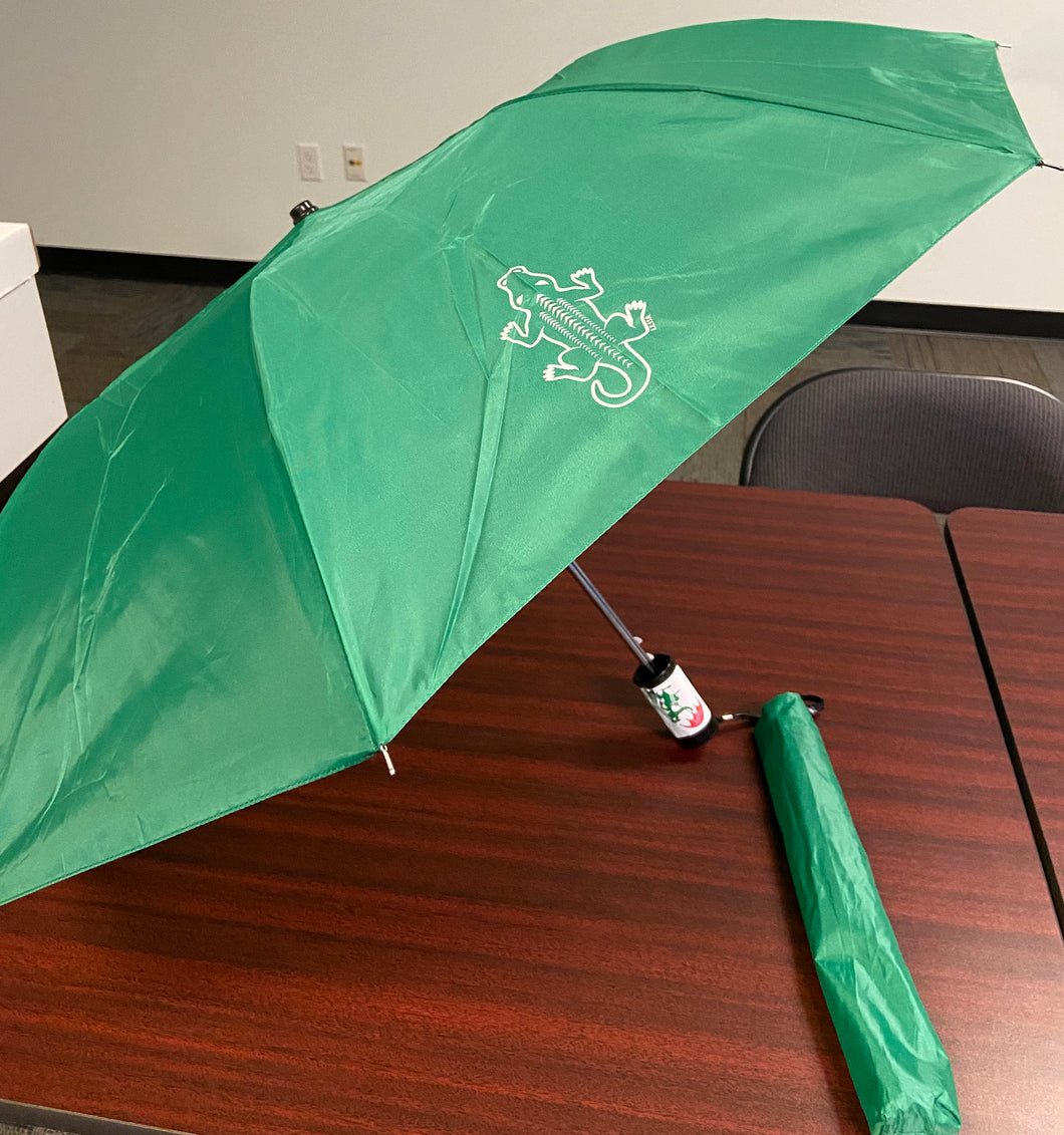 Green Gator Umbrella