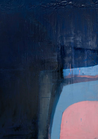 Big Blue with Pink, The Block 2012