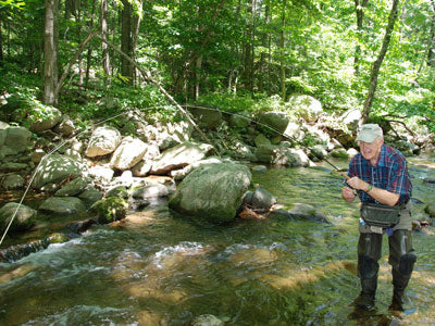 Mountain Trout Streams Fly Fishing Report - Update July 28, 2018