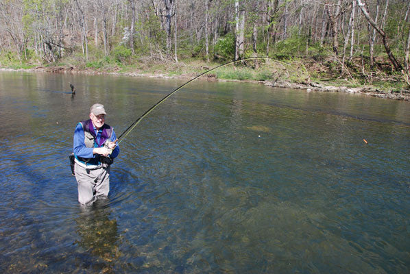 Smallmouth Bass Streams Fly Fishing Report- March 21, 2017