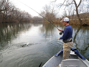 Smallmouth Bass Streams Fly Fishing Report - January 14, 2021