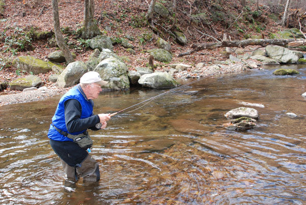 Mountain Trout Streams Fly Fishing Report- May 1, 2018